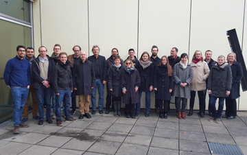 Innanopart Consortium at 9 Month Meeting, Berlin 2016